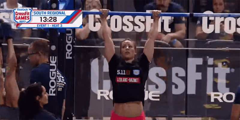 CROSSFIT NEWS – Camille Leblanc-Bazinet Wins Event 1 at CrossFit South Regionals