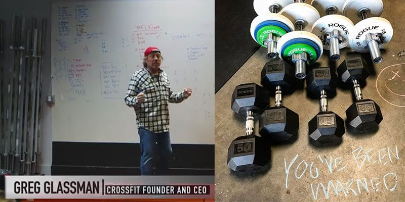 Greg Glassman: 'Nobody's Doing Enough With Dumbbells'