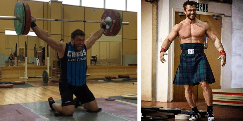 5 Crazy and Unique Weightlifting Challenges with Dmitry Klokov