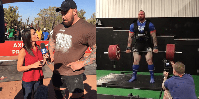 Thor (The Mountain) Bjornsson Deadlifts A Massive 420 kg for 2 reps!