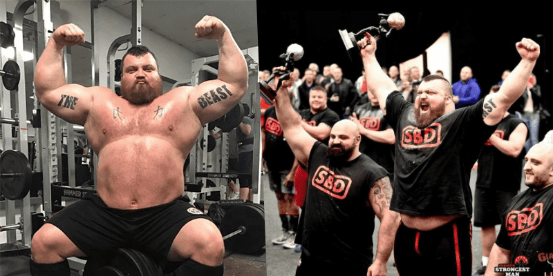 World's Strongest Man Eddie Hall is Thinking about Becoming an Olympic Weightlifter