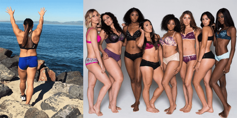 CrossFit Games Athlete Joins Other Sportswomen to Model Like Victoria's Secret Angels