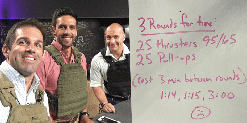 20 CrossFit WODs to Challenge Yourself Against Pat Sherwood from The Update Show (Part 2)