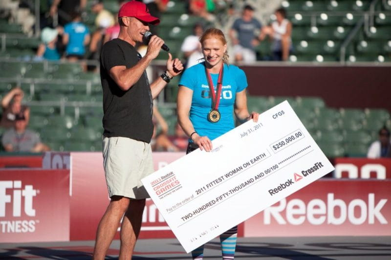 Annie Thorisdotir wins 2011 CrossFit Games