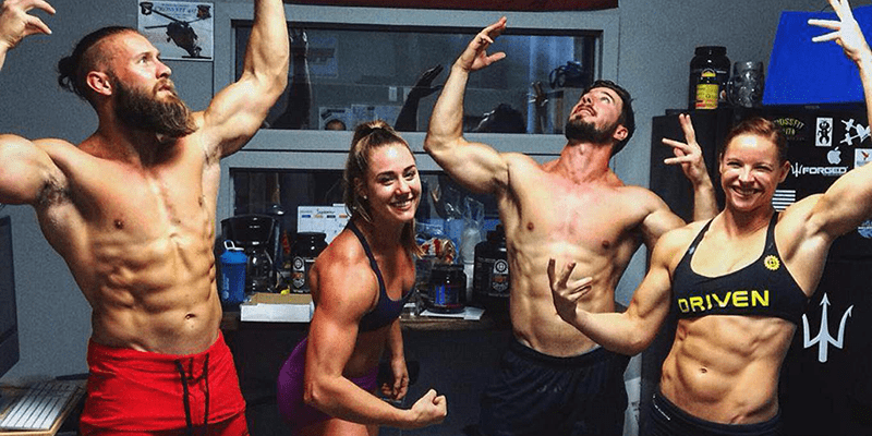 Brooke Wells Upper Body Bro Session Workouts