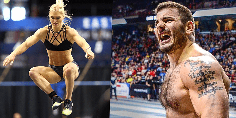 Clash of Champions – Mat Fraser Vs Katrin Davidsdottir in Crossfit WOD!