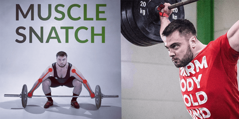 WEIGHTLIFTING TIPS – Muscle Snatch Advice from an Olympic Champion