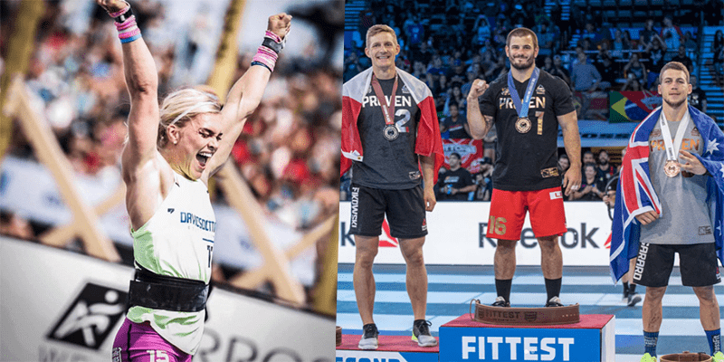 Every CrossFit Games Winner from 2007 to 2017 (All Individuals, Masters, Teams and Teens)