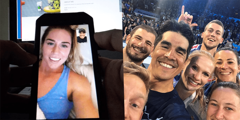 Brooke Wells Turns Dave Castro Down
