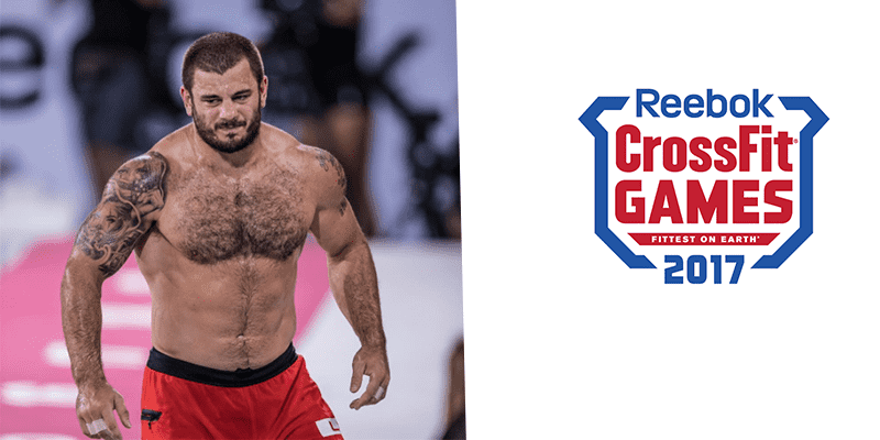 Mat Fraser Wins His First Event at 2017 CrossFit Games!