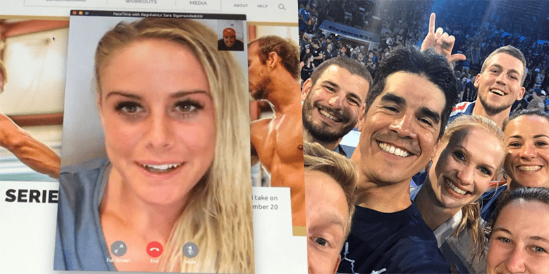 Dave Castro is Rejected by Sara Sigmundsdottir!