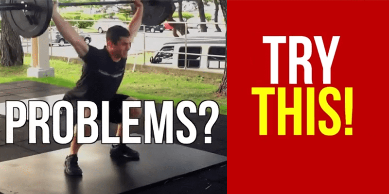 Snatch Mobility Problems? Try These 3 Exercises