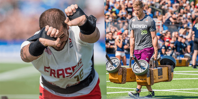 BREAKING NEWS – Amazing Sprint Finish Between Fikowski and Fraser in The Strongman's Fear Event!