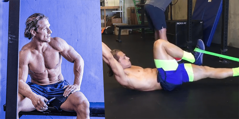 THE PSOAS MARCH – New Variation from Marcus Filly to Build Core Strength, Abs and Improve Your Rope Climb Skills
