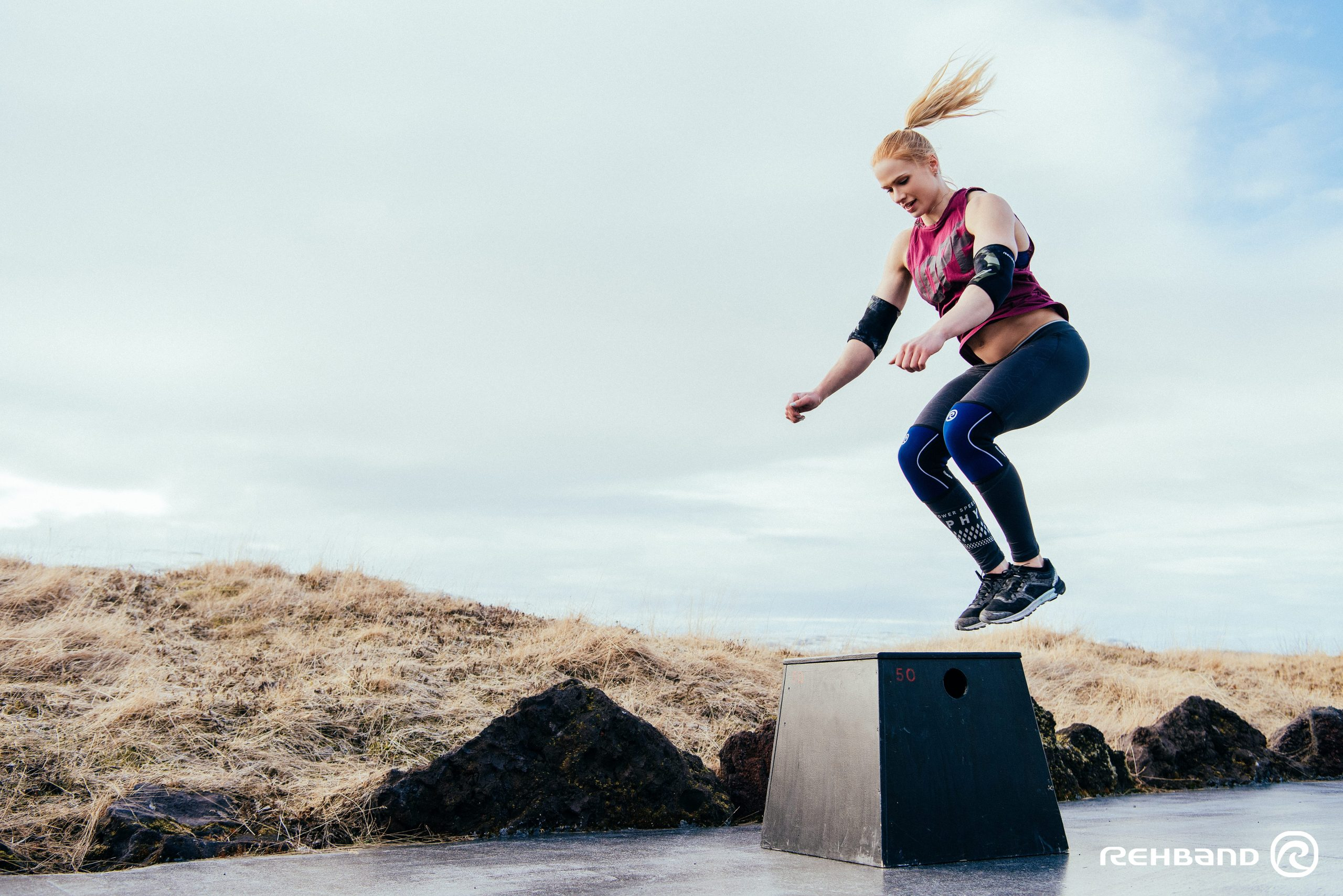 Annie Thorisdottir Box Jumps