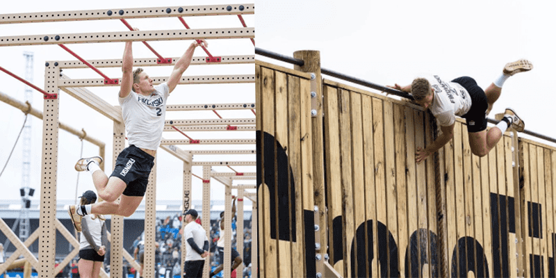 Brent Fikowski crossfit games obstacle course event