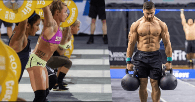 Carly Fuhrer and Rob Forte at CrossFit Games 2017