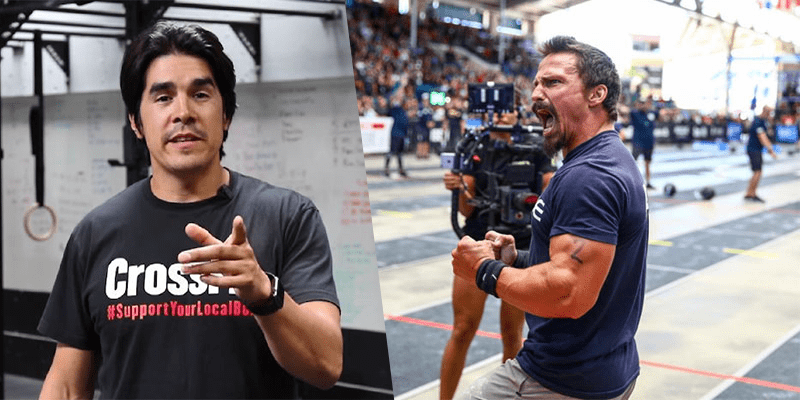 Dave Castro and Josh Bridges Go Head to Head in Workout