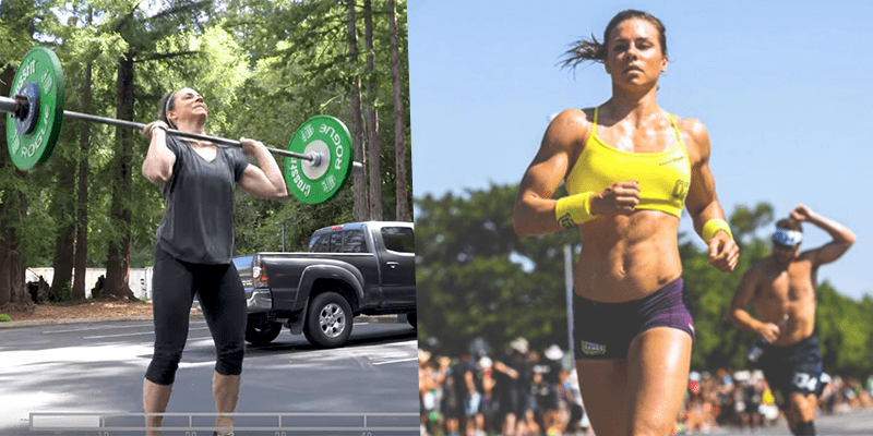 Warm Up and Movement Prep for CrossFit Open Workout 18.2 with Julie Foucher