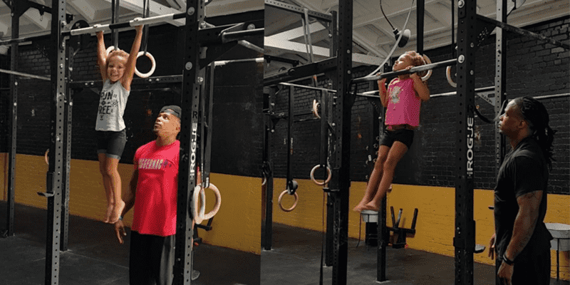 4 Year Old Completes 10 Strict Pull Ups!