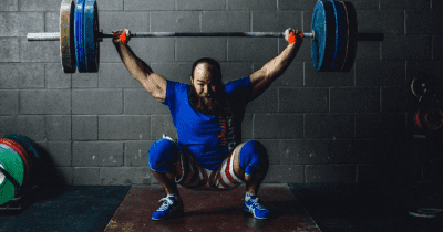 Snatch-Lift overhead stability for weightlifting