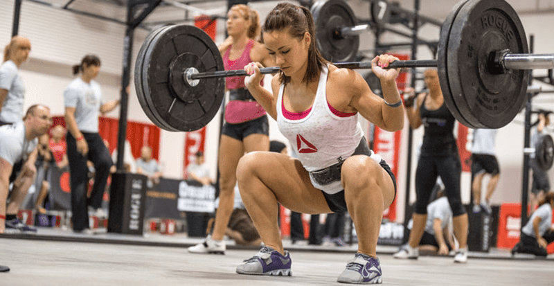 Squat-Camille how to build muscle