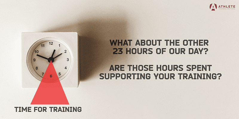 The Other 23 Hours: How to Optimise Your Training