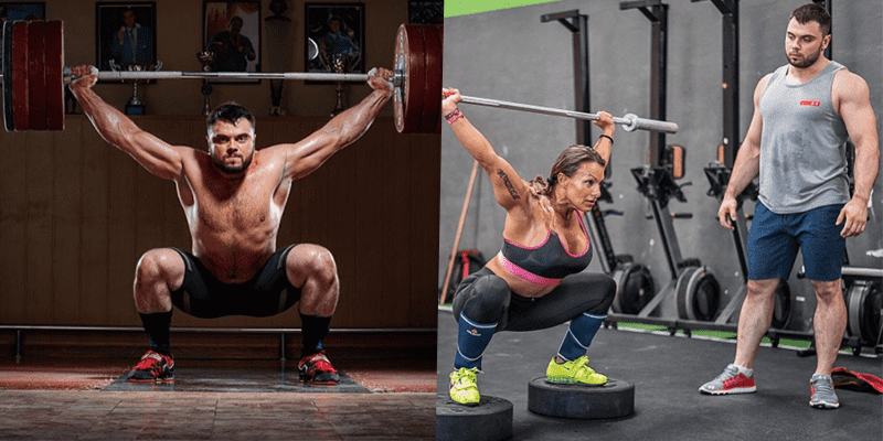 Snatch Push Press and Overhead Squat Complex from Olympic Champion Torokhtiy