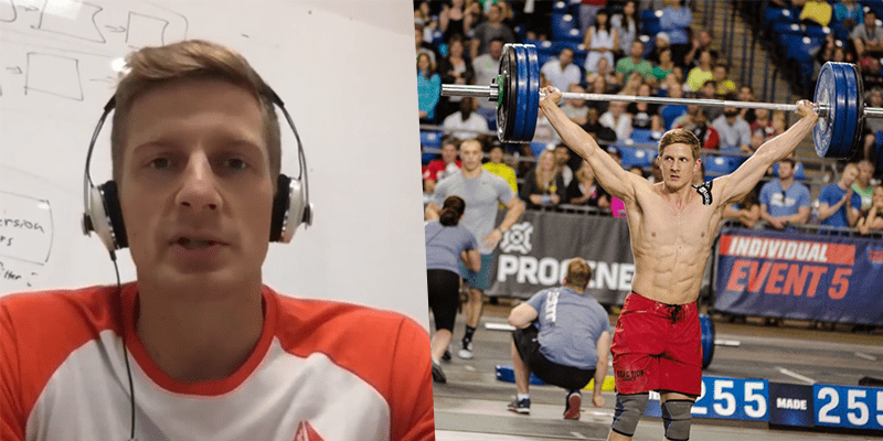 Brent Fikowski on Chasing Mat Fraser and Focus in CrossFit