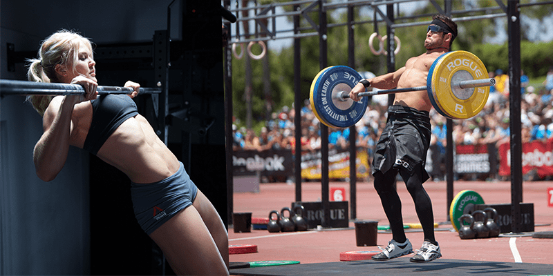 Crossfit-Athletes