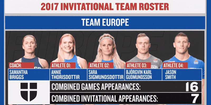 Introducing The 2017 Invitational European Team: Coached by Samantha Briggs