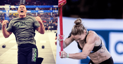 Jason Smith and Samantha Briggs at CrossFit Games
