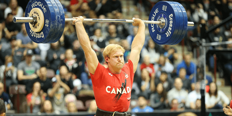 Pat Vellner Lifts 1250 lbs / 566 kg During The CrossFit Total Event
