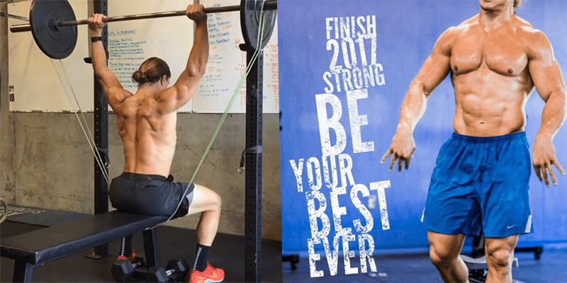 Build Overhead Strength and Mobility with the Banded Behind the Neck Seated Press