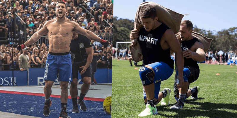 Ben Garard Talks about His Brother's Drug Ban from The 2017 CrossFit Games