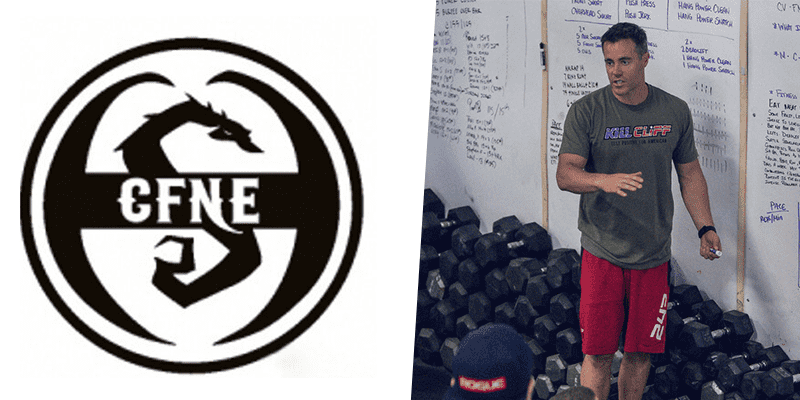 CFNE logo and Ben Bergeron