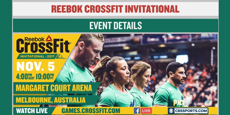 2017 CrossFit Games Invitationals