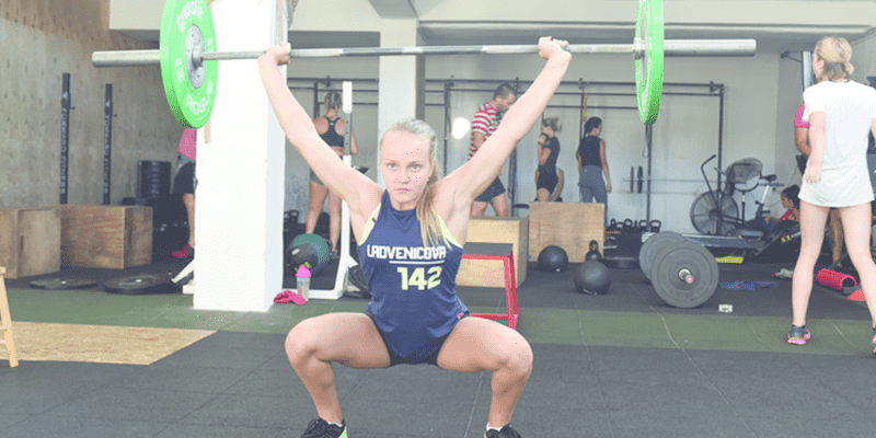 CrossFit Games Teenager athlete