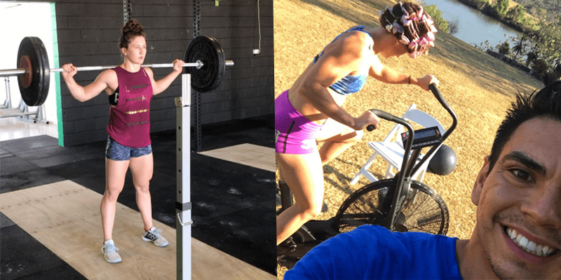 This Is How a CrossFit Bride Gets Rid of Pre-Wedding Stress