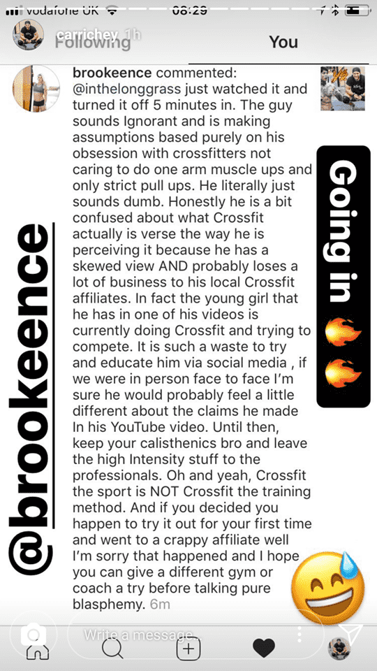 The CrossFit Community Responds to Viral Video: