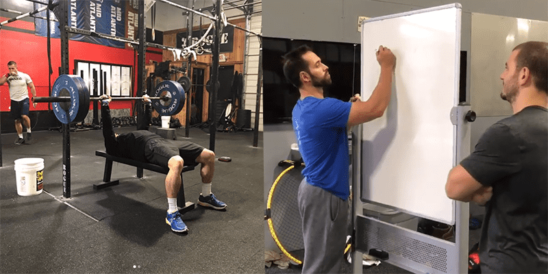 Mat Fraser and Rich Froning's Partner WOD Challenge Score is Beaten!