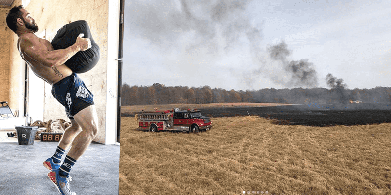 Massive Fire Breaks Out at The Froning Family Ranch