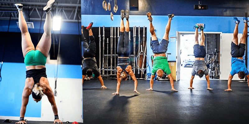 Unique Drill to Help You RX Your Handstand Walk