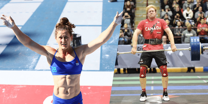 Tia-Clair Toomey and Pat Vellner