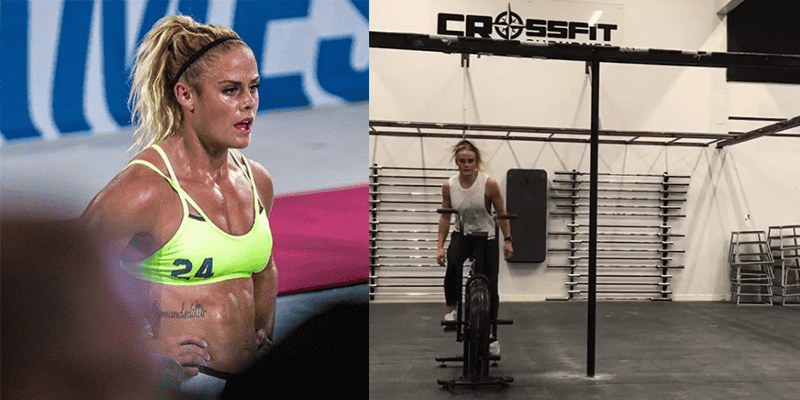 Leg Crushing WOD from Sara Sigmundsdottir