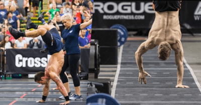 Rich Froning and Brent Fikowski