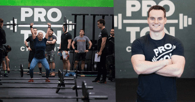 CrossFit Proton and Palo Cervenka