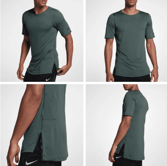 NIKE TRAINING UTILITY SS TOP