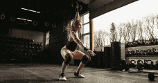 Annie Thorisdottir Dumbbell Snatch