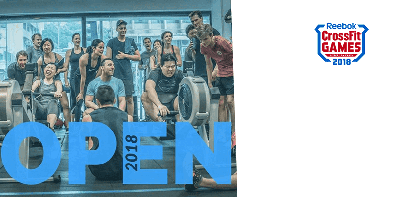 REGISTER NOW – How to Sign Up for The 2018 CrossFit Open